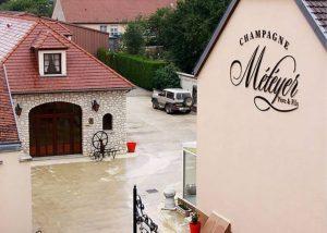 Champagne Météyer - Winery when it is raining