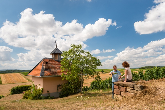 schweinhardt amazing ancient church near winery in germany