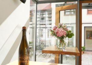 sektgut wilhelmshof amazing room for wine tasting sessions inside winery