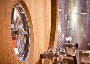 Sessanea - Azienda Vitivinicola Giulia tanks inside winery in Italy