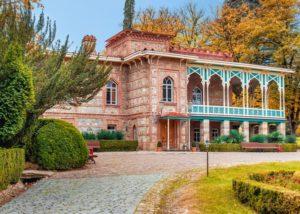 tsinandali estate amazing stone estate and lovely courtyard in georgia