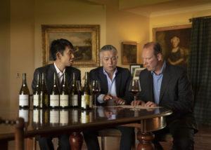 urlar winemakers tasting beautiful wines in the winery in new zealand