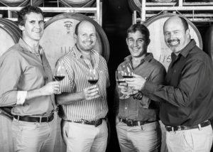 van loveren four winemakers tasting stunning wines from winery