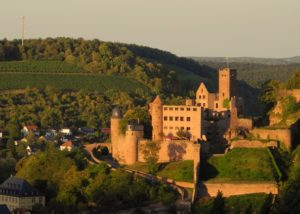 weingut alte grafschaft beautiful view on amazing ancient castle