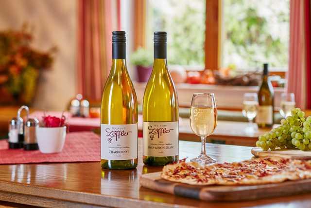 weingut löffler amazing food and wine tasting in the winery