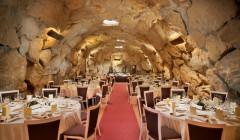 Wine tasting at Eguren Ugarte winery cellar in Spain