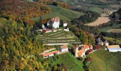 winkler-hermaden bird-eye view of the castle and vineyards