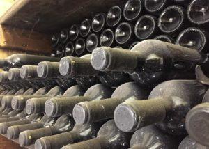 zaro wines bottle of great wine ready for tasting near winery