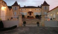 Magnificient building of the Château de Gaudou winery
