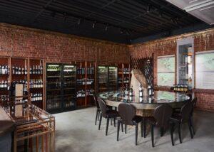 Tasting room of Abrau-Durso winery