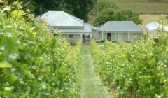 Main building of Apogee tasmania winery