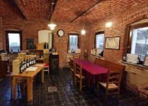 Tasting room of the Az. Agr. Cortino Produttori Dianesi s.s.a winery