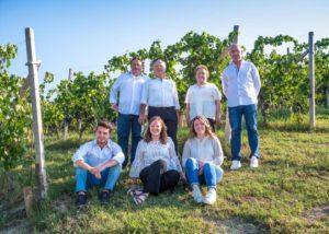 Winemakers of the Azienda agricola Teo Costa - Giobbe winery