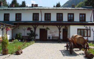 Attractive building of Azuga Rhein Wine Cellar winery