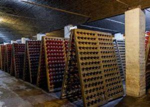 The winery cellar of Azuga Rhein Wine Cellar