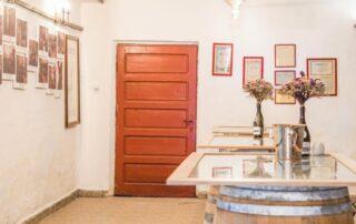 Tasting room of Azuga Rhein Wine Cellar
