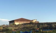 Main building of Bodega hacienda molleda winery