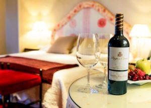 wine at bodega pago de cirsus