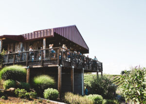 main building of brooks wine