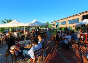 Wine tasting event happening at Bruscia Vini winery
