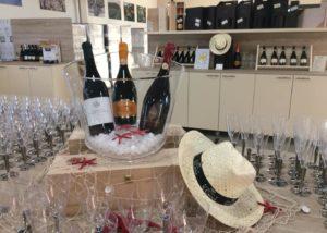 Wine tasting at Cantina di Santa Croce winery