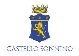 The logo of the Castello Sonnino winery