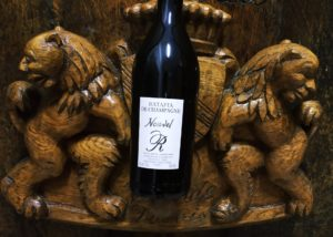 Wine bottle of the CHAMPAGNE RÉDEMPTEUR winery