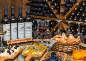Amazing Wine and Food tasting at Chateau Ateni winery