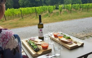 Wine tasting at Chateau de Bioul winery