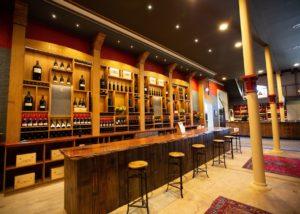 Grand tasting room at Chateau Tanunda winery