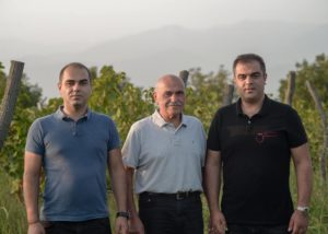 Owners of the Chona's Marani winery