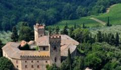Castle view of the CONTE GUICCIARDINI di Ferdinando Guicciardini - CASTELLO DI POPPIANO winery