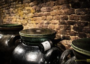 amphoras at csetvei cellar