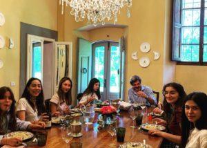 tasting at dianella winery