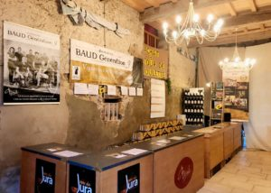 Tasting room of Domaine BAUD - Génération 9 winery
