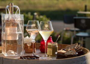 Tasting at DOMAINE VINTUR winery