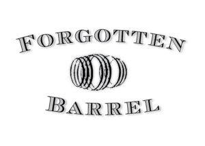The logo of Forgotten Barrel Winery