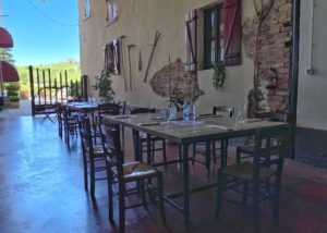Tasting room of the fratelli serio & battista borgogno winery