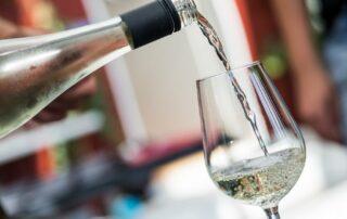 Wine tasting at Guldbæk vingård winery