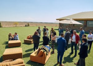 Wine tasting event happening at Karas Wines winery