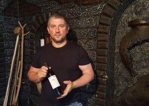 Winemaker of the Lekso's Marani winery