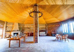 Tasting room inside the Ltd Winery Chelti