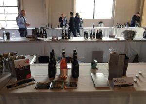 Tasting room at Menegotti winery
