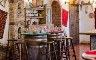 Tasting room of the orbelia winery