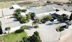 Aerial view of Piekenierskloof winery