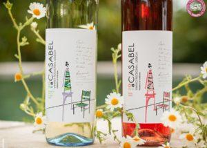 Wine bottles of Quinta do Sanguinhal winery