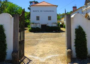 Entrance gate of Quinta do Sanguinhal winery
