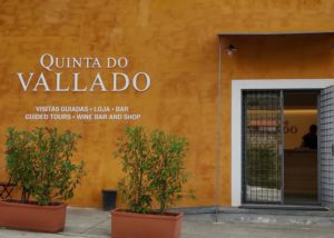 Wine barrels inside the cellar of Quinta do Vallado winery