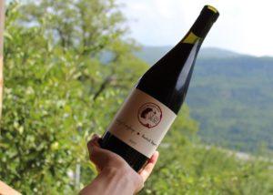 Wine bottle of the Sad Meli Winery