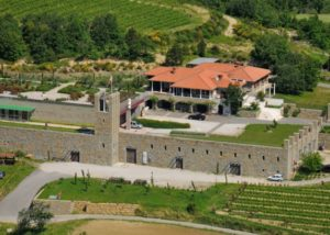 Winery estate view of Santomas Winery